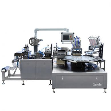 NBR-500 rotary blister packaging machine (suitable for 12 sticks glue)